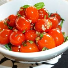 Sauteed Cherry Tomatoes with Garlic and Basil - Allrecipes.com