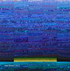 Into the sky, by Ann Brauer. (on TAFA) - Quilt.