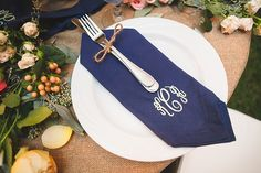 A country chic rustic Richmond wedding with monogrammed hay bales, a riverfront ceremony, and navy blue bridesmaid dresses captured by Don Mears Photography. Wedding Wishes, Wedding Blog, Wedding Decor, Wedding Stuff, Wedding Ideas, Monogram Wedding, Wedding Monograms, Navy Blue Bridesmaid Dresses, Marriage Material