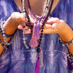 purples for spiritual growth Boho Jewellery, Jewelry, Spiritual Growth, Tassel Necklace, Take That, Make It Yourself, Chain, Purple, Bracelets