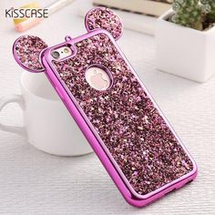 KISSCASE Fashion 3D Mickey Mouse Case For Iphone 6 6S 7 Plus 5S Rhinestone Glitter Silicone Case Coque For Iphone 6S Plus Cover //Price: $8.99 & FREE Shipping // http://swixelectronics.com/product/kisscase-fashion-3d-mickey-mouse-case-for-iphone-6-6s-7-plus-5s-rhinestone-glitter-silicone-case-coque-for-iphone-6s-plus-cover/    #hashtag3