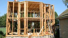 Каркасный дом своими руками: инструкция, важные моменты Homemade Sauna, Sheds, Dyi, Diy And Crafts, Projects To Try, Cabin, House Styles, Frame, Home Decor