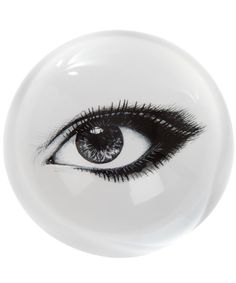 A great addition to your writing table. RORY DOBNER, LOOKING AT YOU PRECIOUS EYE PAPERWEIGHT, £47.00. #libertystationery #rorydobner #paperweights