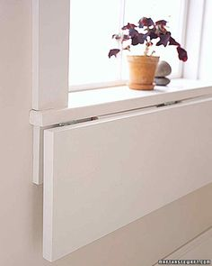 Kitchen Space Savers | Martha Stewart Living - These two easy projects can give you newfound space and storage in a cramped kitchen area.