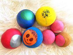 Augusthimmel: Nachschub für die Ballkiste   Luftballon gefüllt mit Resten