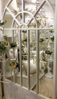 Hey, I found this really awesome Etsy listing at https://www.etsy.com/listing/249842631/vintage-shabby-white-mirror