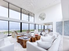 Long Island House by Stelle Lomont Rouhani: Love the indoor/outdoor feel