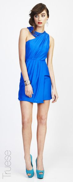 Truese Verve dress. Love the cobalt $269