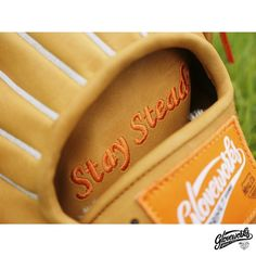 Add your name on lining and be yourself!   #Gloveworks x Luka - Pro Steerhide in British Tan. What a peaceful scenery. You design it, we make it. Build your own custom baseball glove with Gloveworks Glove Builder at gloveworks.net  #Baseball #BaseballGlove #MLB #CustomGlove #BringItHome