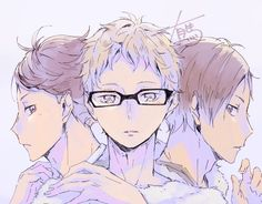 OIKAWA IS DADDY OKAY???? AND THATS MY SON TSUKI. IDK HOW KENJI IS WHAT BUT HES A BABE