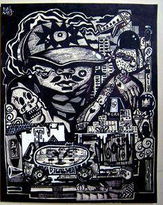 Lima  #lima #dibujo #blancoynegro #caos #nopolice #karolnarciso #tattoo