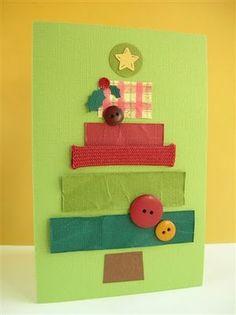 Aquí os dejo unas poquitas postales de Navidad muy sencillas de hacer. Yo creo que podíamos trabajarlas con niños de 2 a 6 años. A ver qué os parecen: