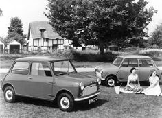 Minis Early photo (painted Grill , pre chrome)
