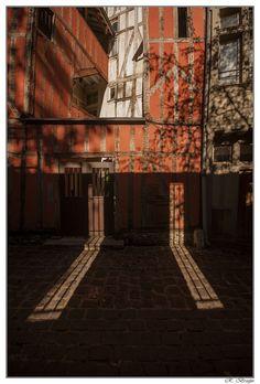 Light and shadow. France Lumiere et ombre France Ville de Troyes
