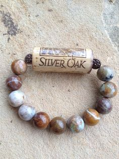 Used Wine Corks for to buy online to be used for trade undertakings like grape plug wreaths, stopper pin boards, marriage event prefers and a lot more. Wine Cork Jewelry, Wine Cork Art, Funky Jewelry, Jewelry Crafts, Beaded Jewelry, Men's Jewelry, Jewelry Ideas, Jewellery, Wine Craft