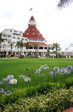 hotel del coronado, Coronado Island, CA. Still wanna stay here some day...