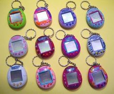 Check out Tamagotchis virtual pets from Best Toys of the 90s. I miss these