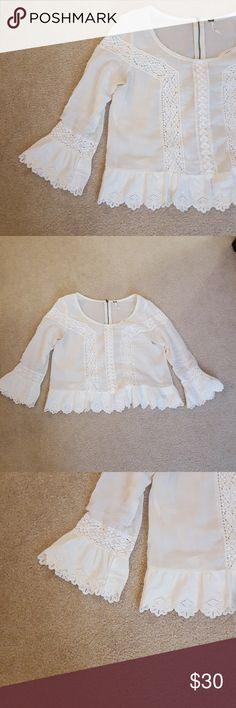 Free people top excelent condition Free People Tops Blouses