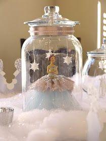 Kara's Party Ideas | Kids Birthday Party Themes: Winter Princess Birthday Party