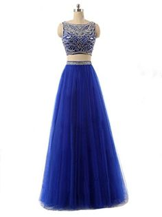 Sisjuly Women's Crystal Two Pieces Ball Gown Prom Dress with Sleeveless US2 Dark Royal Blue Sisjuly http://www.amazon.com/dp/B017U6GQVI/ref=cm_sw_r_pi_dp_NFzRwb109RP1E
