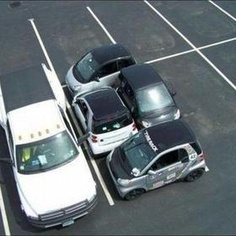 Think of the parking possibilities