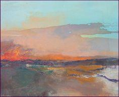 abstracion de paisaje galeria de las obras del paisaje abstracto contemporaneo del pintor artista contemporaneo sergio aiello