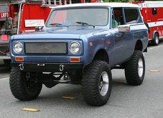Classic Cars and Trucks for Sale - Classics on Autotrader International Scout Ii, International Harvester Truck, International Travelall, Toy Trucks, Lifted Trucks, Classic Trucks, Classic Cars, Ford Bronco Ii, Cool Jeeps