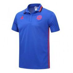 MANCHESTER UNITED 16 17 BLUE POLO SHIRT. Rooney Ibrahimovic pogba Blue Polo  Shirts 68d140fe8