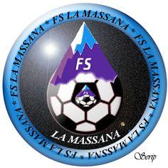 2005, FS La Massana (La Massana, Andorra) #FSLaMassana #LaMassana #Andorra (L16165) Andorra, Fifa, World Football, Crests, Club, Bmw Logo, Badge, Soccer, Logos