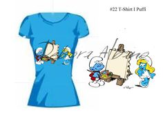 #22 T-Shirt I Puffi Progetto