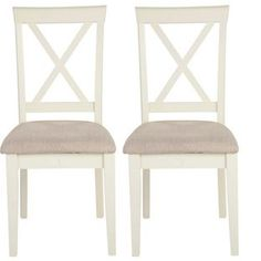 Pair Of Addington Dining Chairs From Homebasecouk