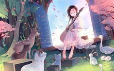 A 'Dere' is an anime trope that is often found in anime. ~ This quiz includes the four most popular deres, but also includes some of the lesser known ones out there, and maybe ones you didn't know exist! Cute Wallpaper For Phone, Wallpaper Iphone Disney, Music Wallpaper, Cute Wallpaper Backgrounds, Cute Wallpapers, Animal Art Projects, Animal Crafts For Kids, Guitar Girl, Dere