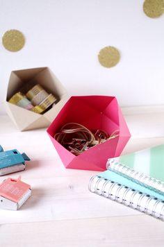 DIY - Atelier Fête Unique - Vide poche en Origami (3)