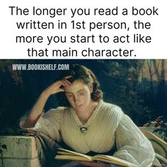 Especially when you're reading an intense scene and suddenly pulled back into real life I Love Books, Good Books, Books To Read, My Books, Teen Books, Book Memes, Book Quotes, Book Nerd Problems, Reading Quotes