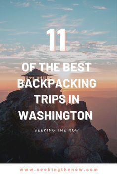 Some of the best backpacking trips in the US!! These backpacking trails near Seattle are INSANE! Washington Camping, Backpacking Trails, Adventure Aesthetic, Wanderlust, Adventure Travel, Adventure Quotes, Adventure Photography, Simple, Seattle