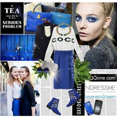 """""""Blue Dream"""" by mimrella ❤ liked on Polyvore"""