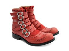 My idea of sexy boots. I am in looove with most Fluevogs. I wish I could afford even just one pair.