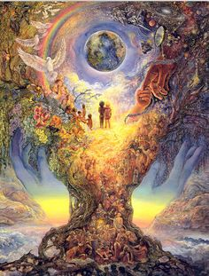 Josephine Wall Fantasy Art | josephine+wall+fantasy+art+millenium+tree.jpg