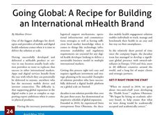 #ClippedOnIssuu from The Journal of mHealth - April 2016