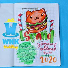 Grammar Book, Recipe Scrapbook, Decorate Notebook, Stories For Kids, Cartoon Drawings, Banner, Doodles, Journal, Lettering