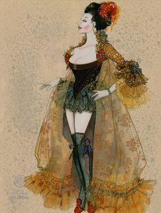Fanny Hill Prostitute. Costume Design by Gregg Barnes