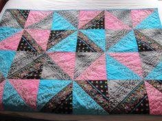 Bandanna quilt, I kinda like this style