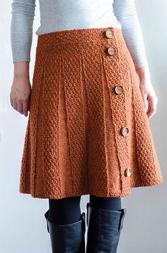 Ravelry: chomolhari& E& Carnaby Skirt crochet skirt Crochet Skirt Outfit, Crochet Bodycon Dresses, Crochet Skirts, Knit Skirt, Crochet Clothes, Knit Dress, Skirt Pattern Free, Crochet Skirt Pattern, Free Pattern