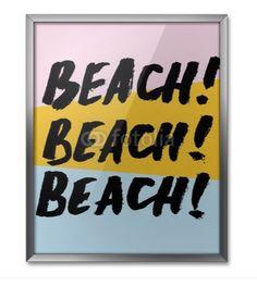 Beach poster by PIXERS <3 www.pixersize.com