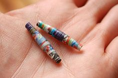 How to Make Paper Beads: 15 steps (with pictures) - wikiHow