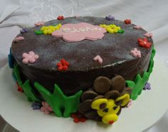 Bolo Safári - Theme Cake - https://www.docemeldoces.com/