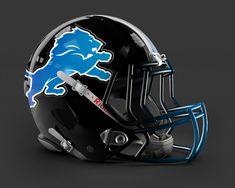 Detroit Lions New Helmet   Detroit Lions Alernate Uniform Concept - Concepts - Chris Creamer's ...