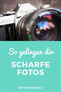 So gelingen dir scharfe Fotos: die richtigen Kamera-Einstellungen und die Bearbeitung in Photoshop einfach erklärt.