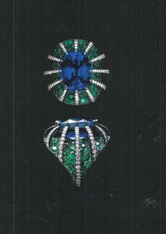How To Choose Jewelry Jar Jewelry, High Jewelry, Jewelry Art, Jewelry Rings, Jewelry Accessories, Jewelry Design, Unique Jewelry, Jewelry Drawing, Emerald Jewelry