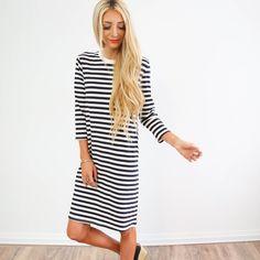 Delilah Stripe Dress – Shop Stevie
